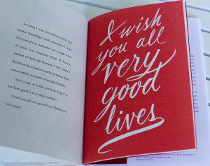 Very Good Lives Excerpts