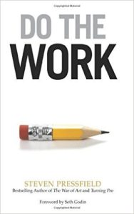 Book Cover: Do the Work by Steven Pressfield